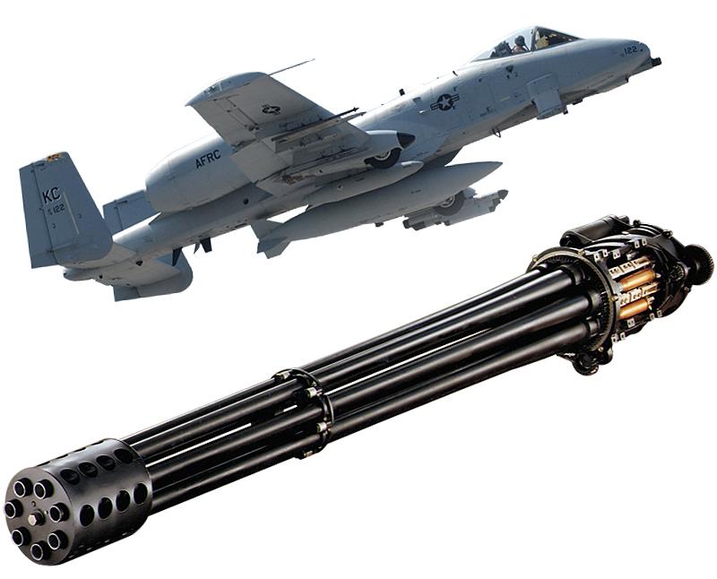 GAU-8/A 30mm Gatling Gun