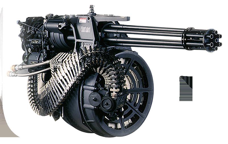 Aircraft Guns and Gun Systems - 20-30mm Gatling Gun Systems on