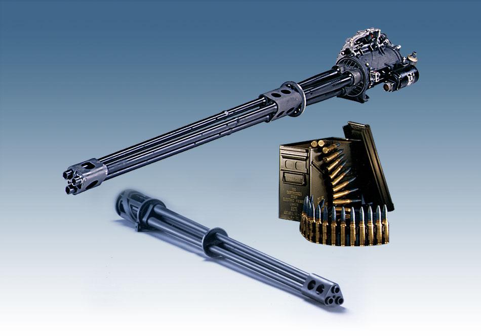 XM301 20mm Lightweight Gatling Gun Xm301